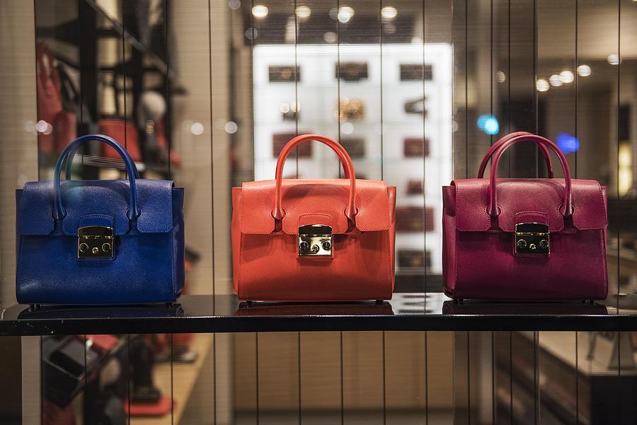 Luxury handbags Photograph by Grosescu Alberto Mihai