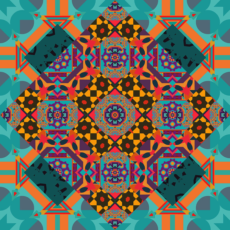 Luxury Ornamen Arabesque Seamless Pattern Drawing