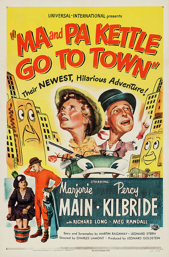 ma And Pa Kettle Go To Town - 1950 Mixed Media