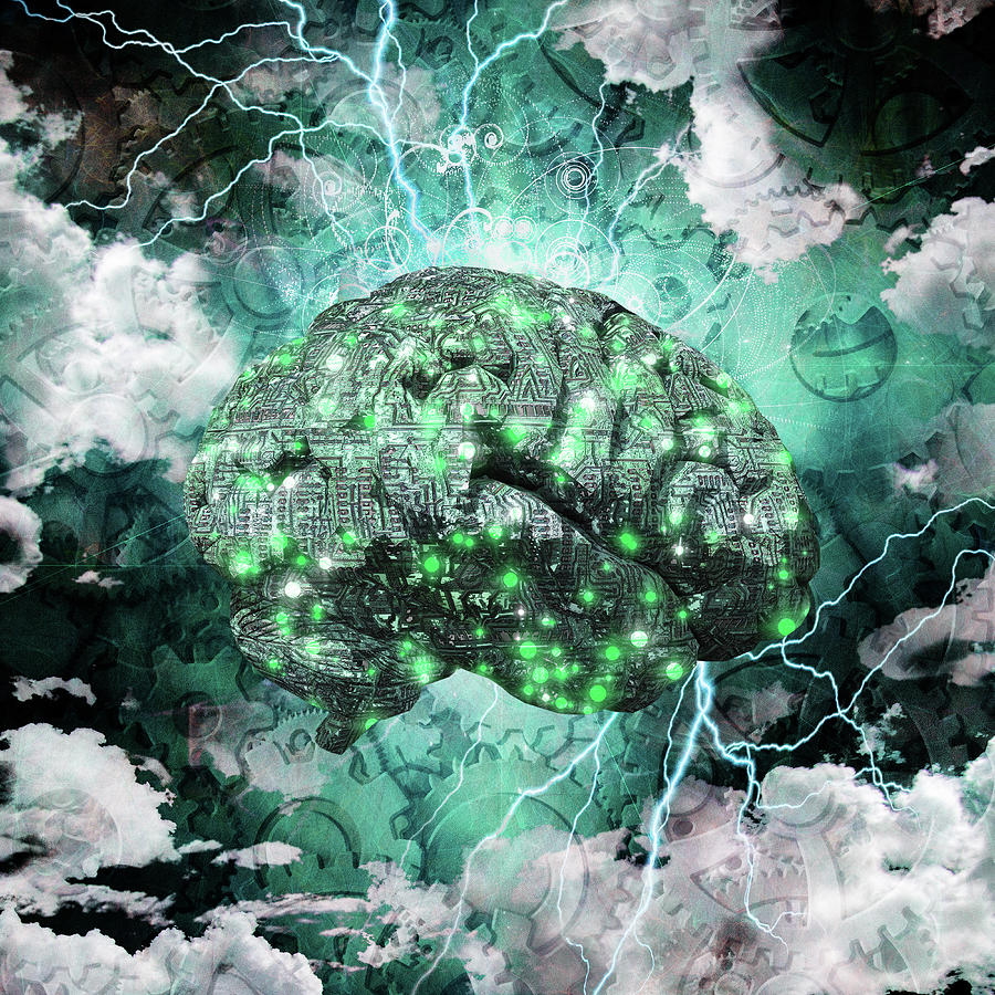 Machine Brain by Bruce Rolff