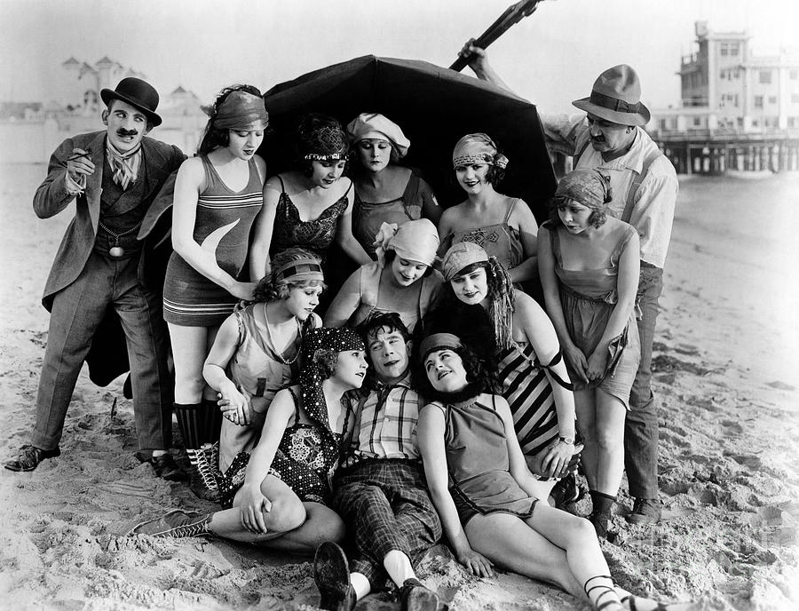 Mack Sennett Bathing Beauties scene Photograph by Sad Hill - Bizarre Los  Angeles Archive