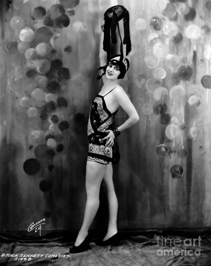 Mack Sennett Bathing Beauty Photograph