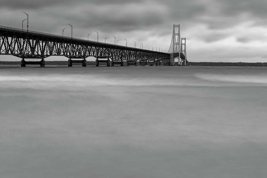 Mackinac Bridge Quiet Photograph