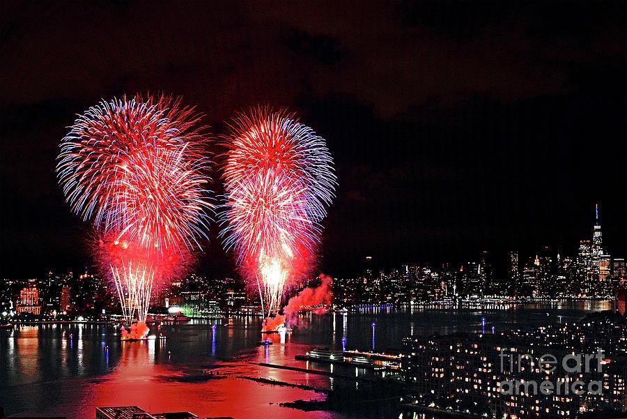 Macys 2020 Pop-up Fireworks Photograph