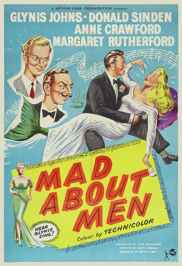 mad About Men - 1954 Mixed Media