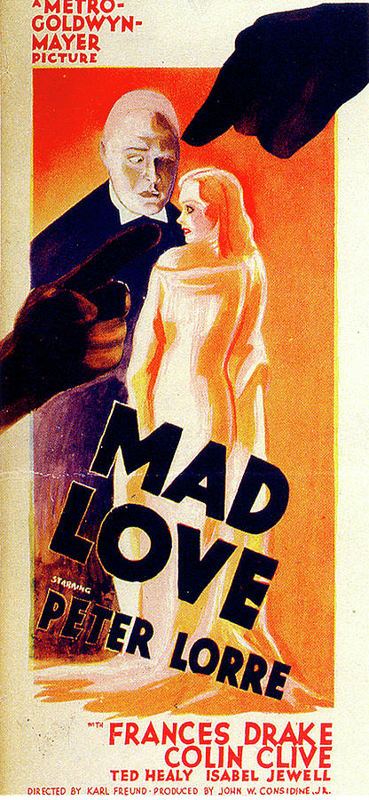mad Love Poster Mixed Media