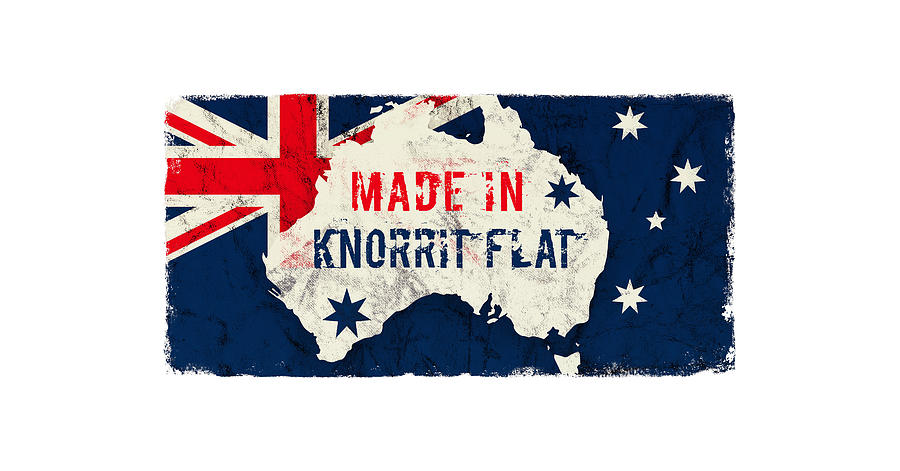 Made In Knorrit Flat, Australia Digital Art