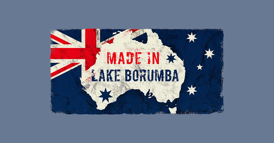 Made In Lake Borumba, Australia Digital Art