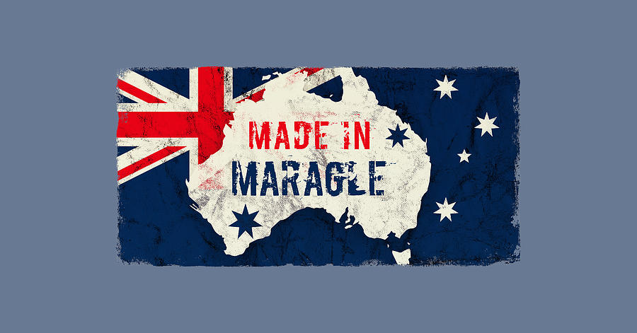 Made In Maragle, Australia Digital Art