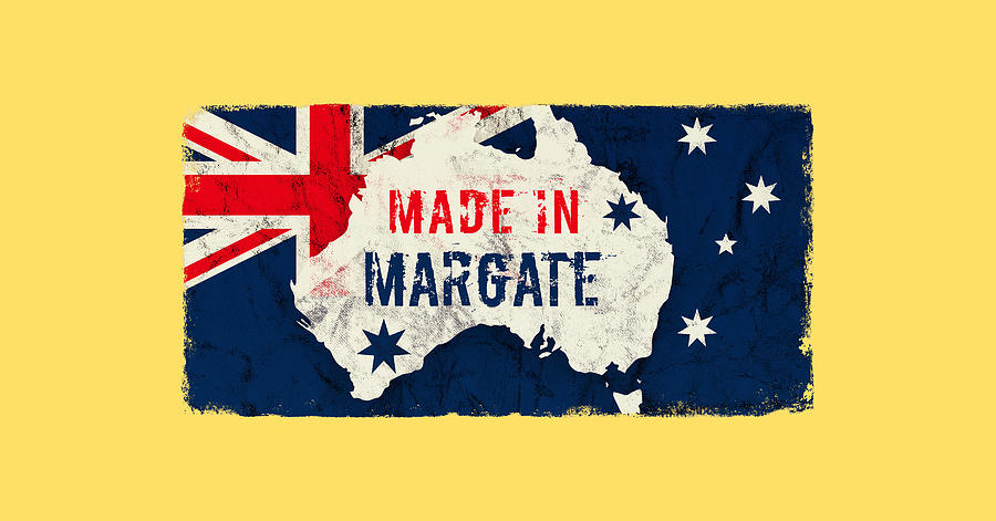 Made In Margate, Australia Digital Art