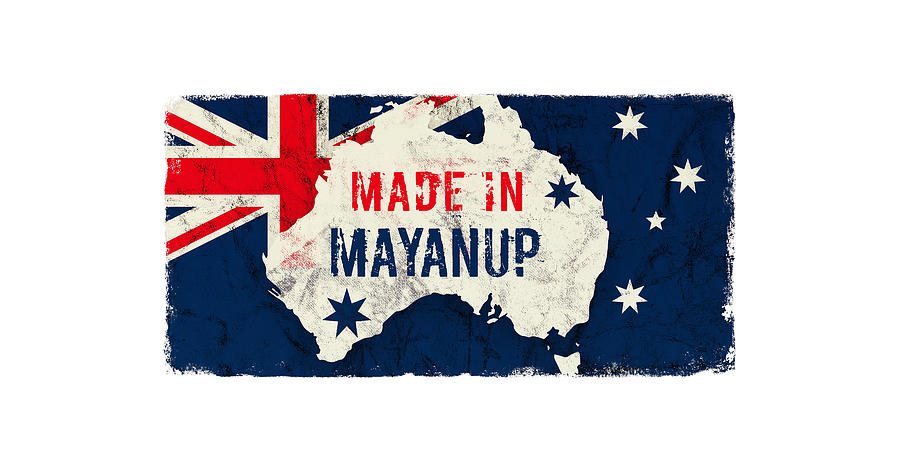 Made In Mayanup, Australia Digital Art