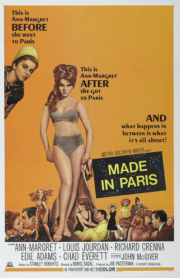 made In Paris - 1966 Mixed Media
