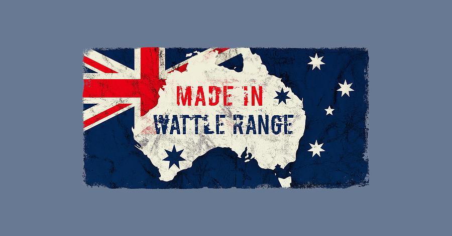 Made In Wattle Range, Australia Digital Art