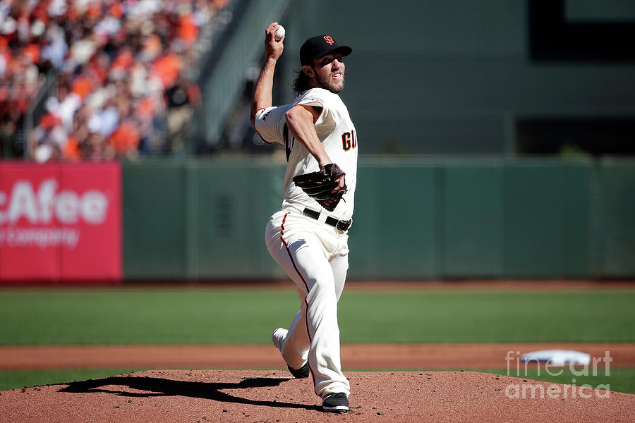 Madison Bumgarner Photograph by Pool