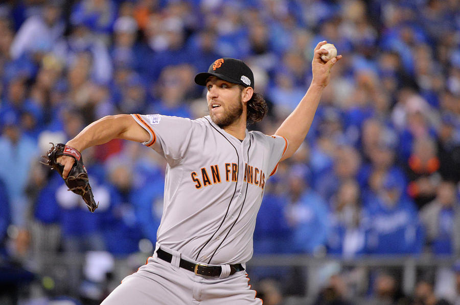 Madison Bumgarner Photograph by Ron Vesely