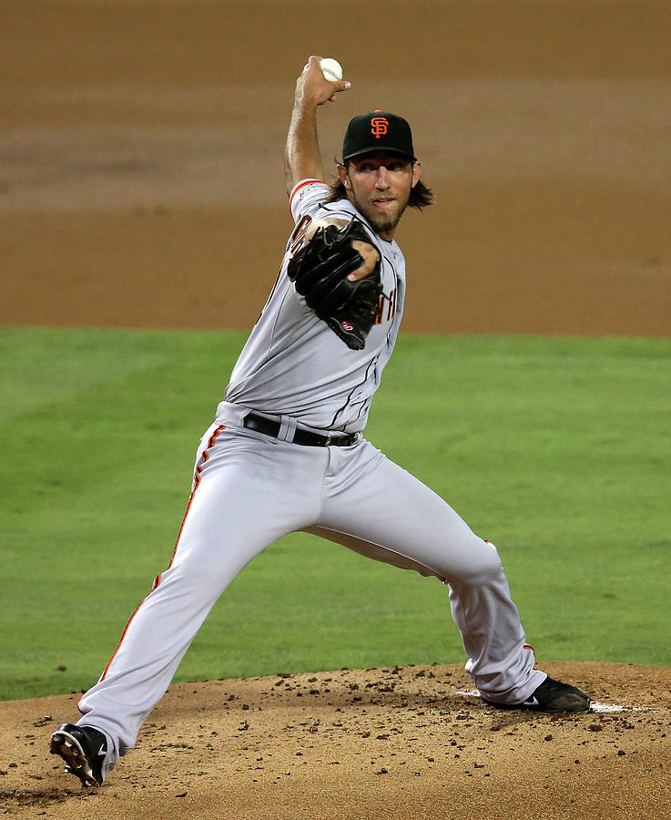 Madison Bumgarner Photograph by Stephen Dunn