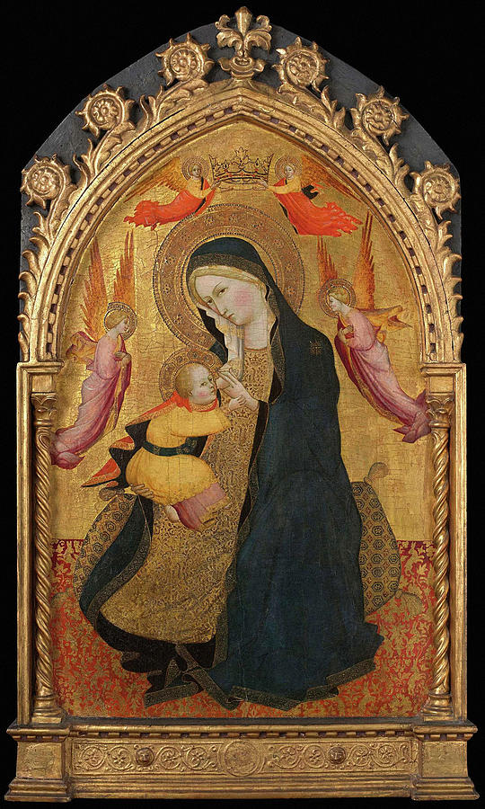 Madonna And Child 1390 Photograph