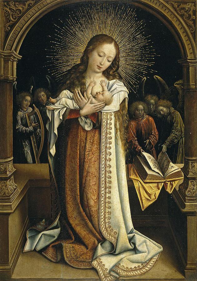 Madonna And Child 1396 Photograph