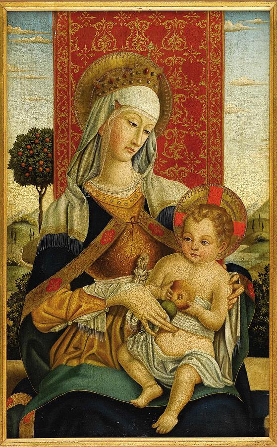 Madonna And Child 1458 Photograph
