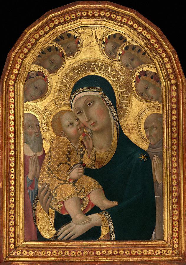 Madonna And Child 1459 Photograph
