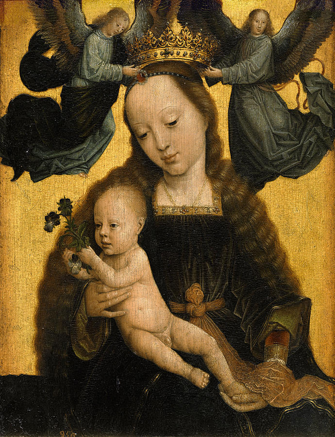 Madonna And Child 1520 Photograph