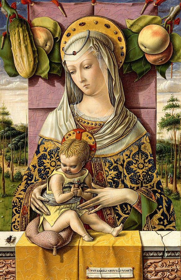 Madonna And Child 1768 Photograph