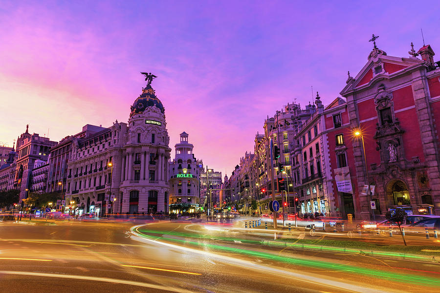 Madrid Spain by Mike Centioli
