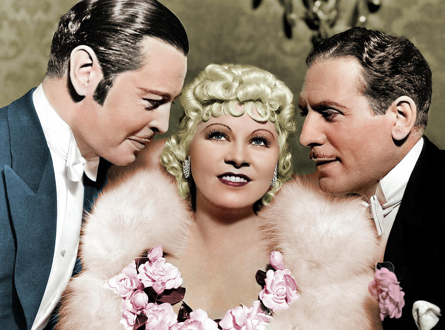 Mae West In Goin To Town 1935 Photograph