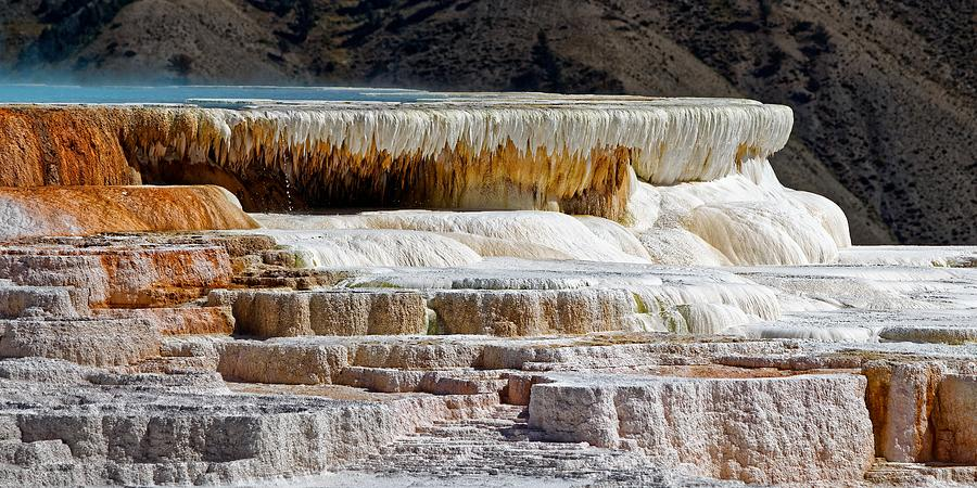 Magical Canary Spring - Yellowstone by KJ Swan