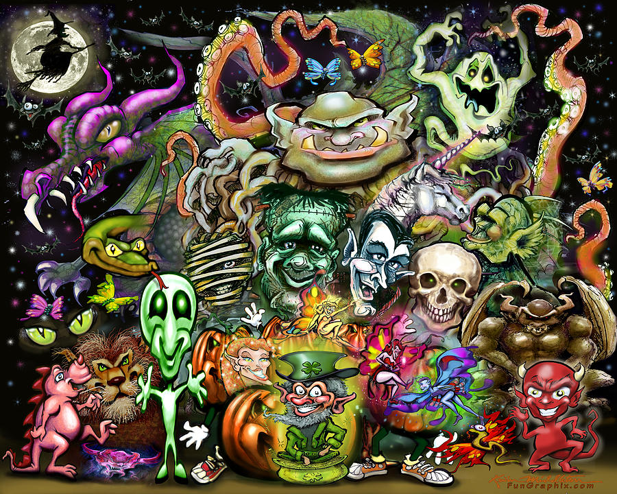 Magical Creatures Digital Art