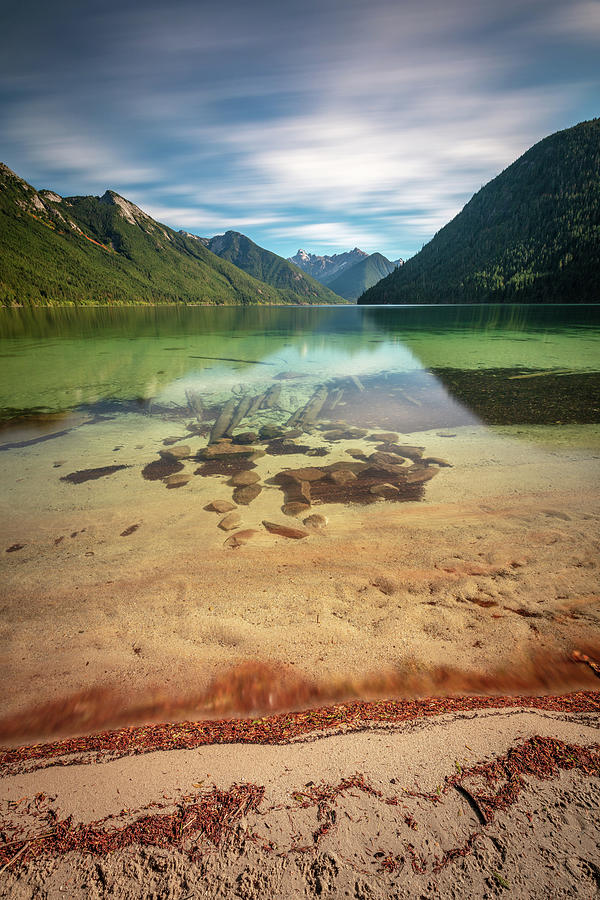 Magical Day At Chilliwack Lake Photograph