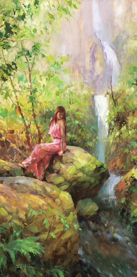 Magical Sanctuary Painting