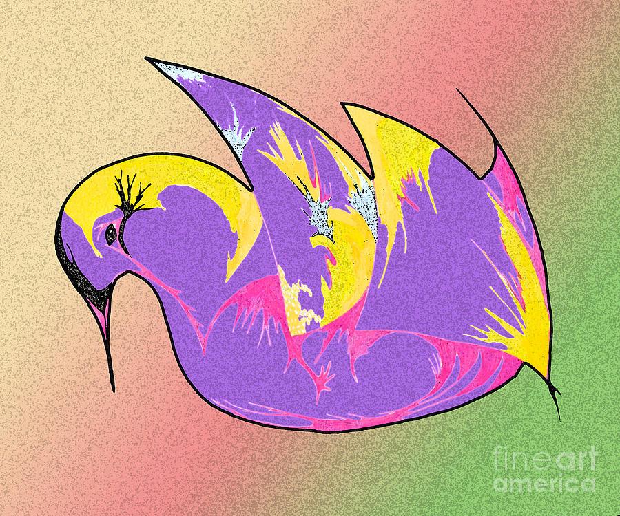 Magical Swan Digital Art