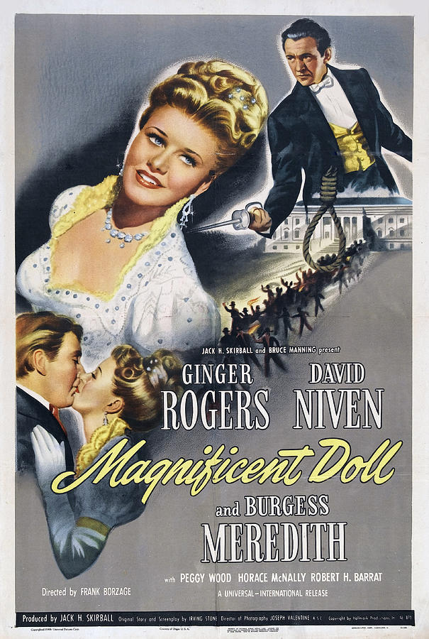 magnificent Doll - 1946 Mixed Media