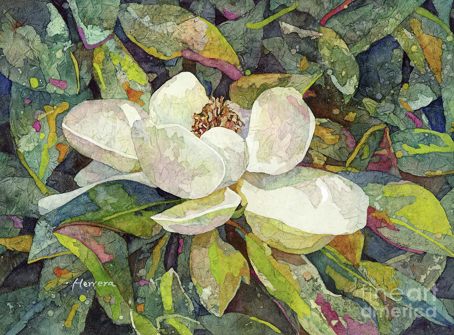 Magnolia Blossom-pastel Colors Painting