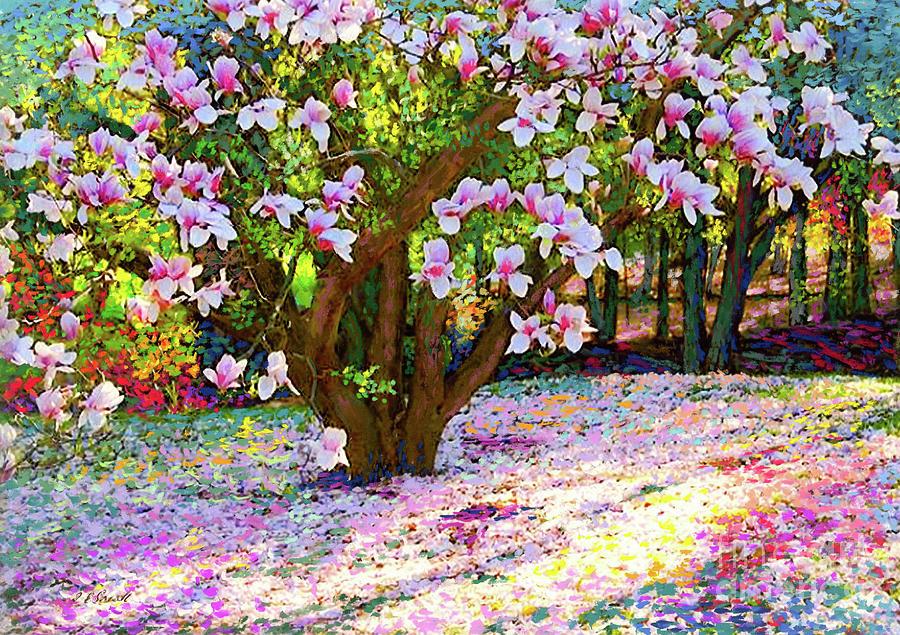 Magnolia Melody Painting