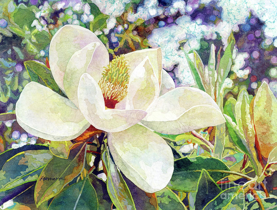 Magnolia Melody-pastel Colors Painting