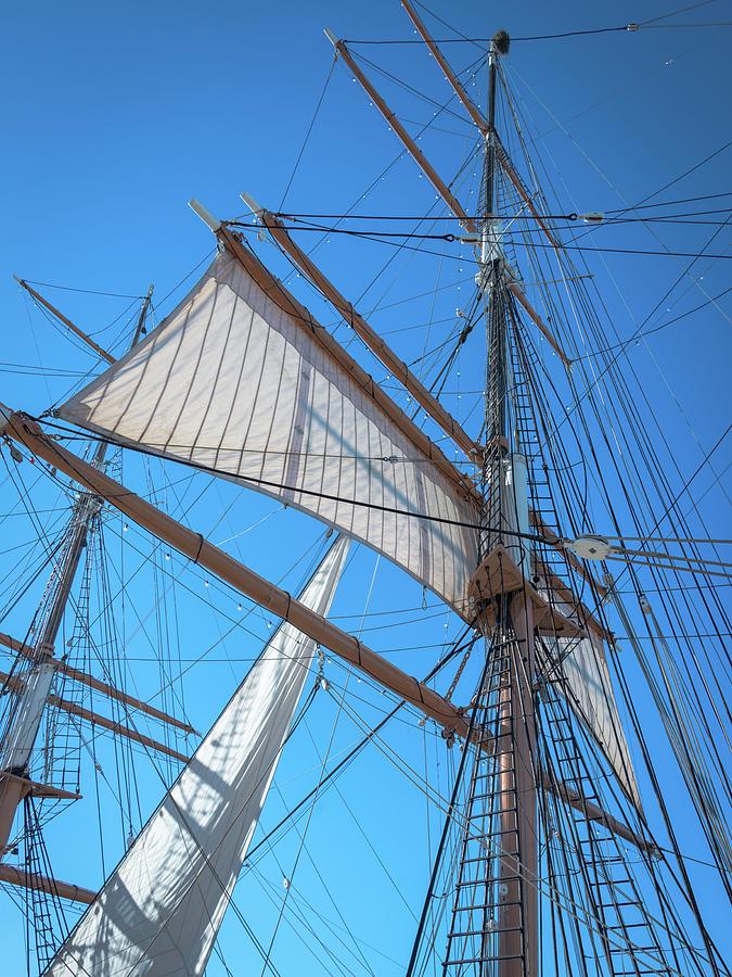 Main Lower Topsail Photograph