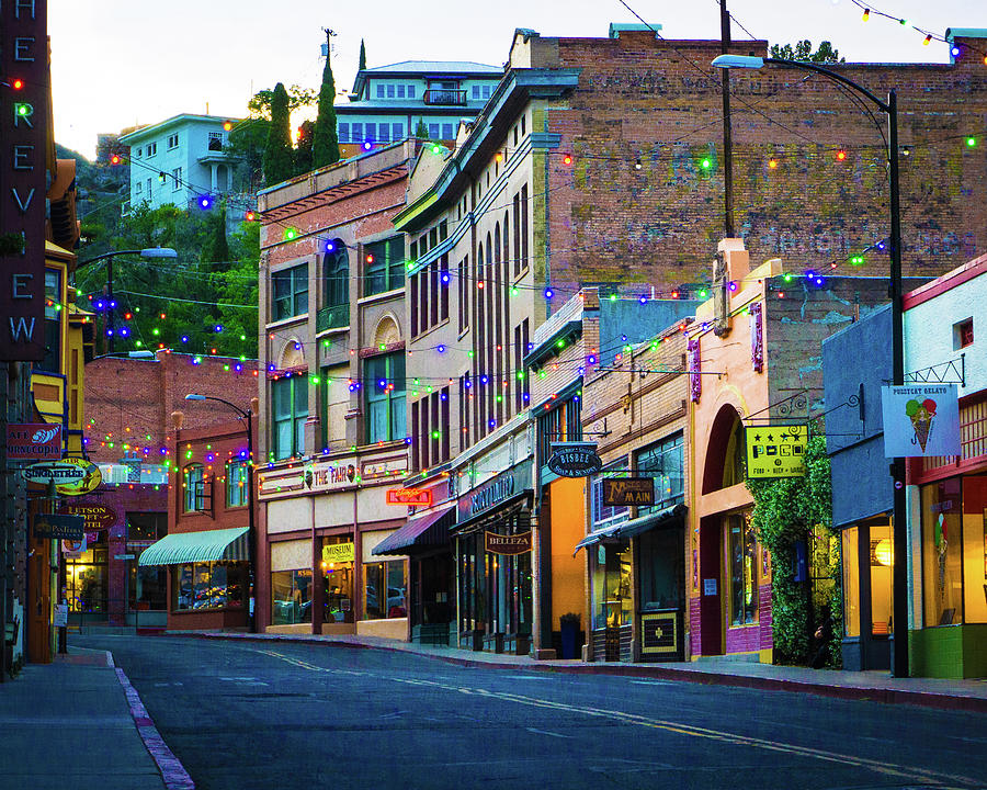 City Photograph - Main Street by GraphiGlyphics Photography