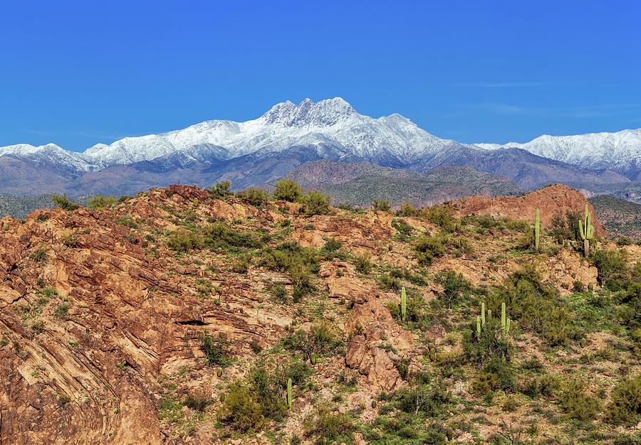 Majestic Four Peaks by Rick Furmanek