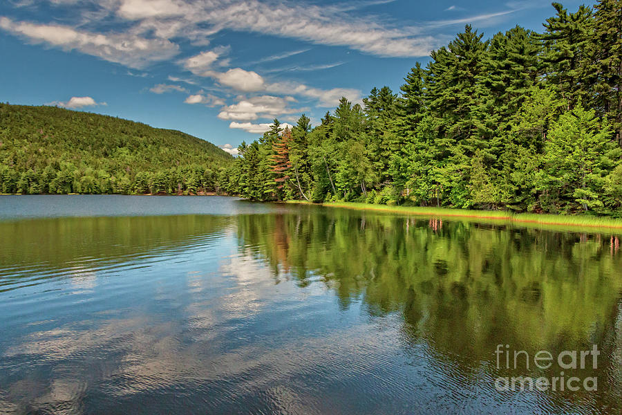 Majestic Lower Hadlock Pond Photograph