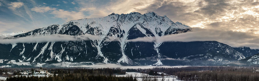 Majestic Mount Currie And The Pemberton Valley Photograph