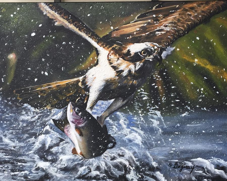 Majestic Predator Painting