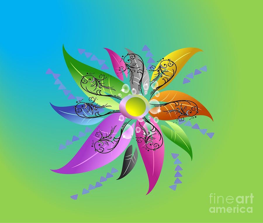 Majestical Flower Digital Art