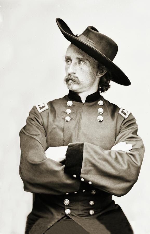 Major General George Armstrong Custer by Carlos Diaz