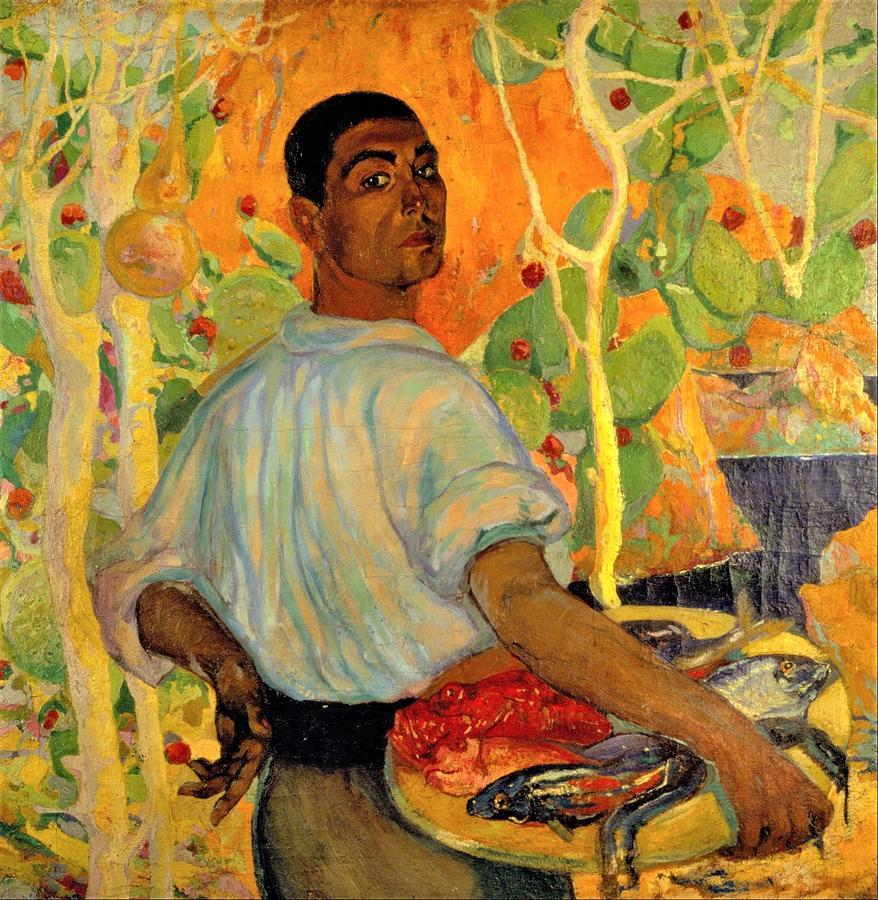 Majorcan Fisherman Painting
