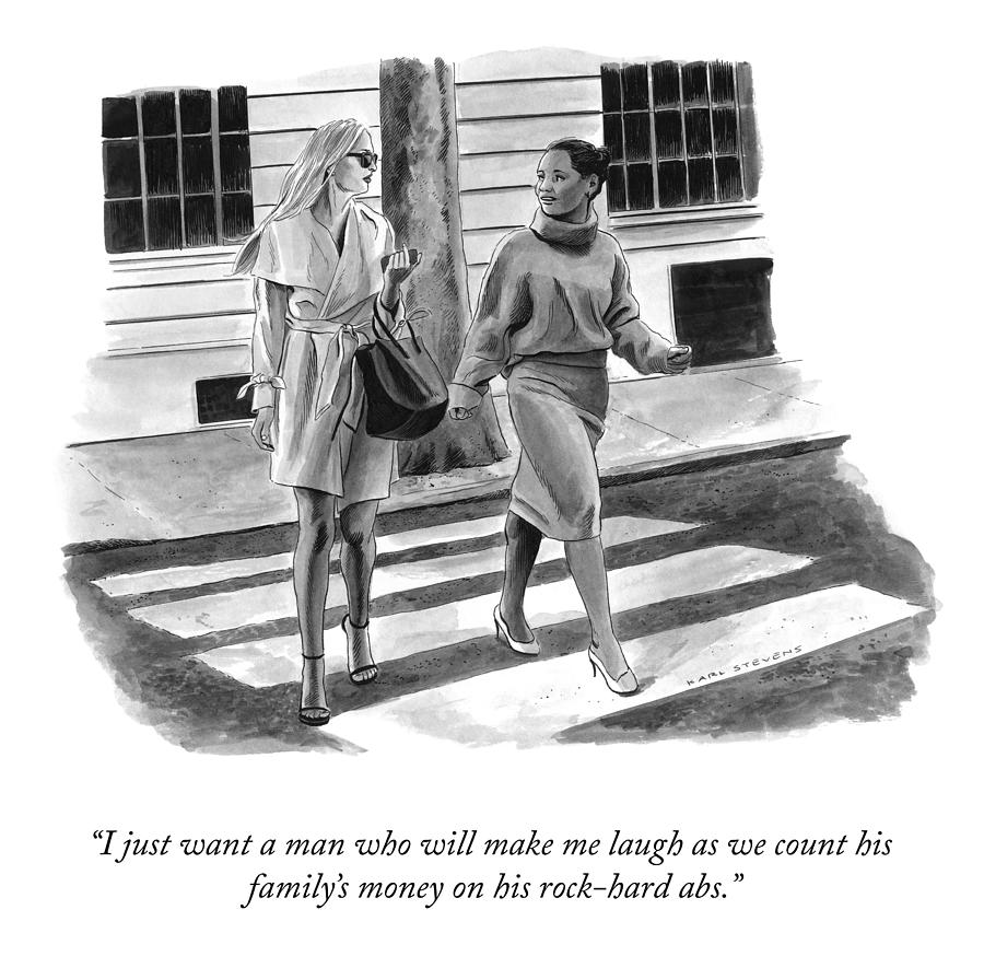 Make Me Laugh Drawing by Karl Stevens