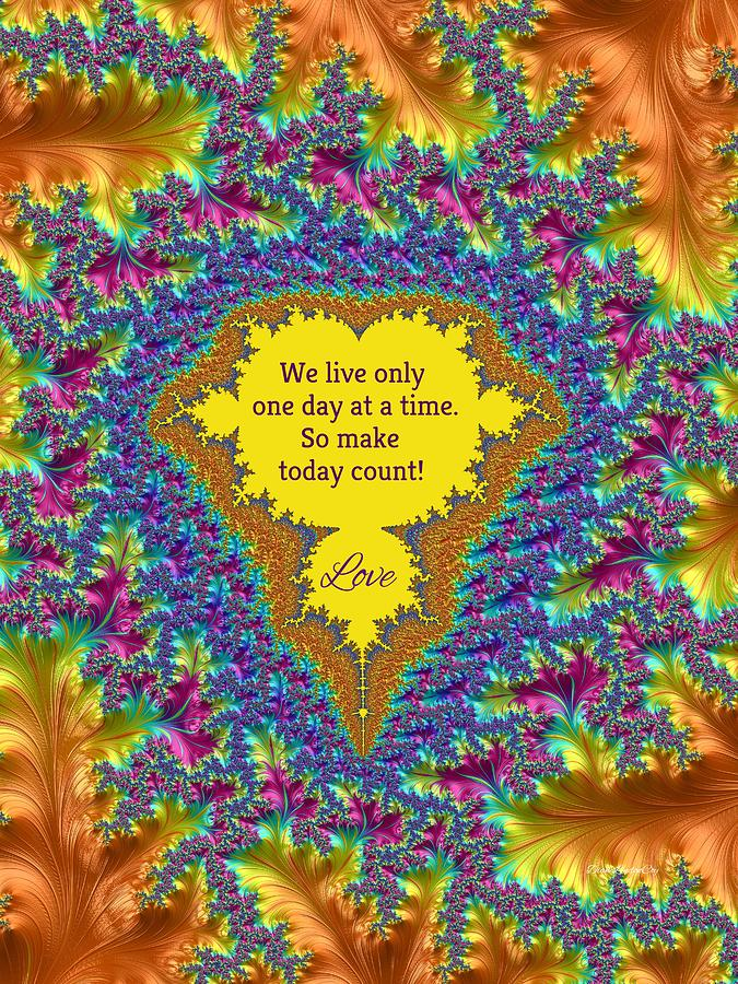 Make Today Count Love by Diane Lindon Coy