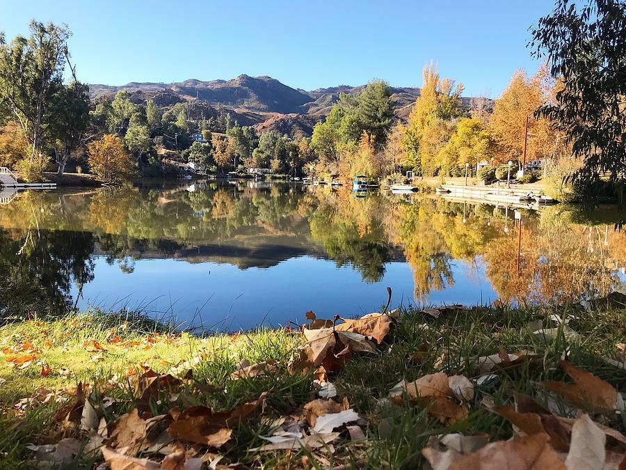 Malibou Lake Photograph