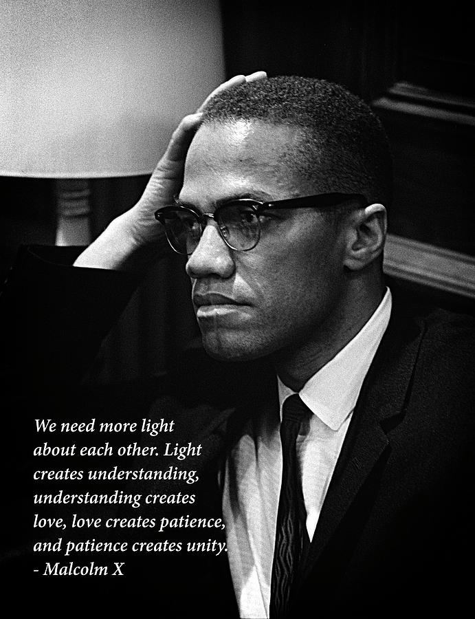 Malcolm X - Quote III by Doc Braham